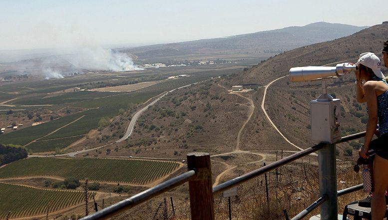 Izraelci promatraju borbe u Siriji