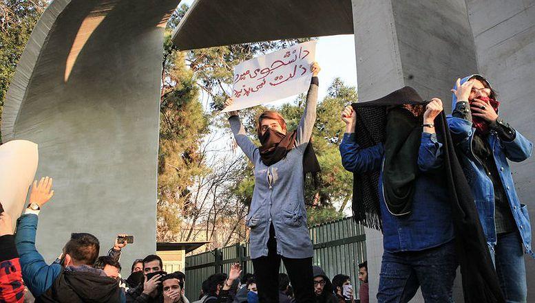 Protestima se pridružio i dio studenata