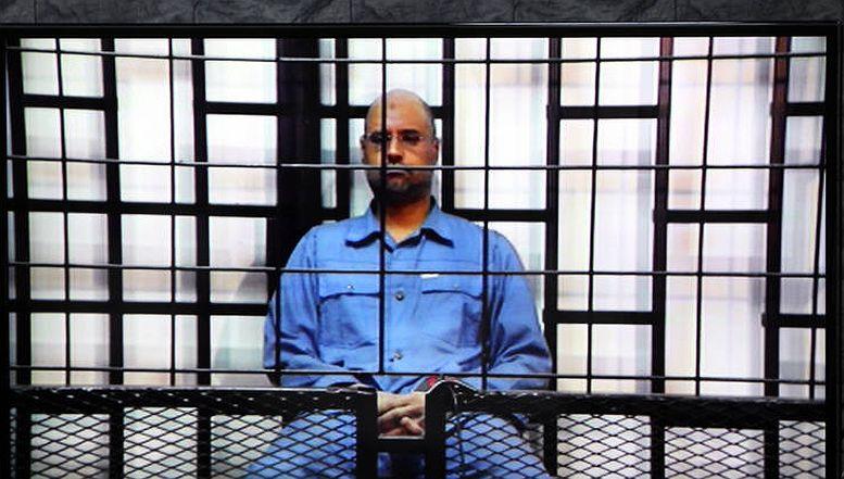 U julu 2015. godine, sud u Tripoliju osudio je Saifa al-Islama na smrt zbog ratnih zločina