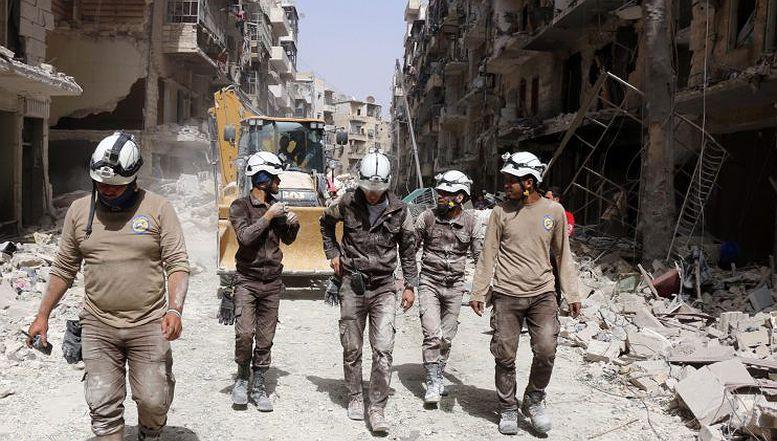 Zapad koristi Bijele šljemove za propagandu protiv sirijske vlade
